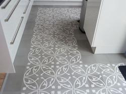 Mosaico de pasta Pez