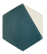 Mosaico de pasta Hxagonal Diagonal