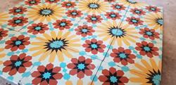 Mosaico de pasta, modelo fortuna