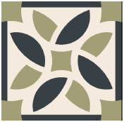 Mosaico de pasta Otoñal