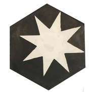 Mosaico de pasta Hexagonal Cosmos