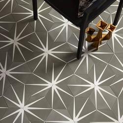 Mosaico hexagonal Destellos
