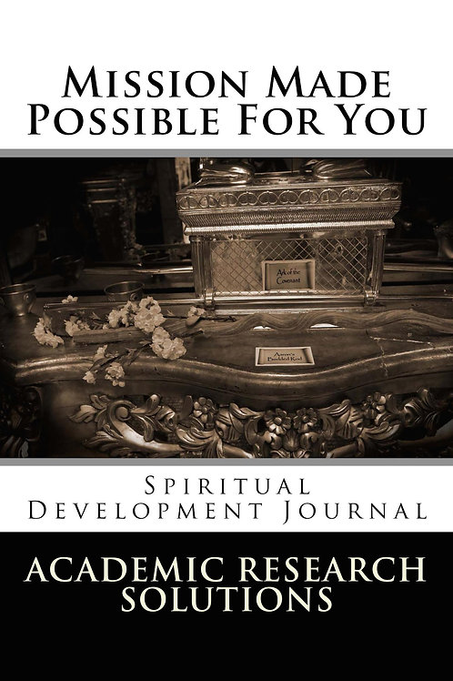 Mission Made Possible For You - Spiritual Development Journal