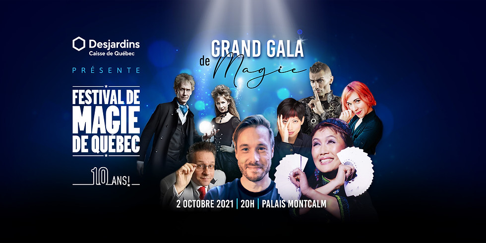 Grand Gala de magie (Webdiffusion)