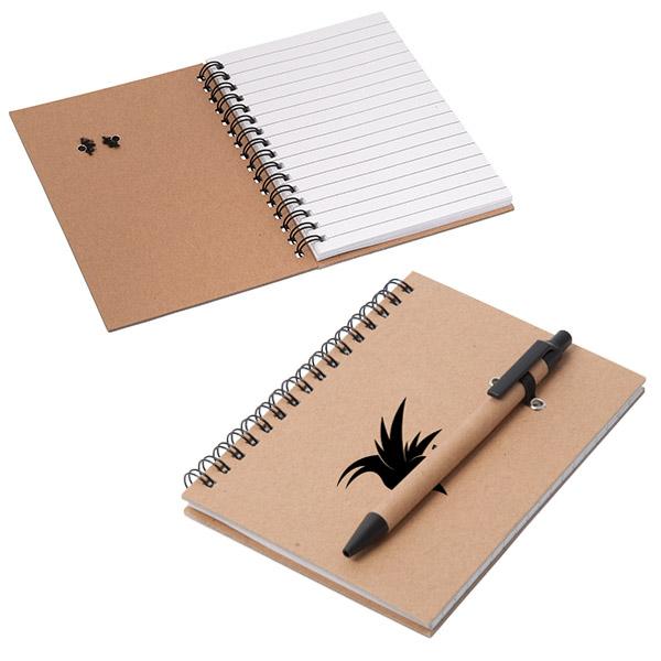 Cahier de notes en carton recyclé