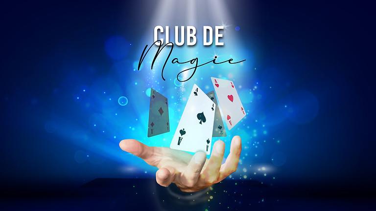 Club de magie du Québec de juillet
