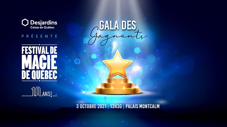Gala des gagnants (Webdiffusion)