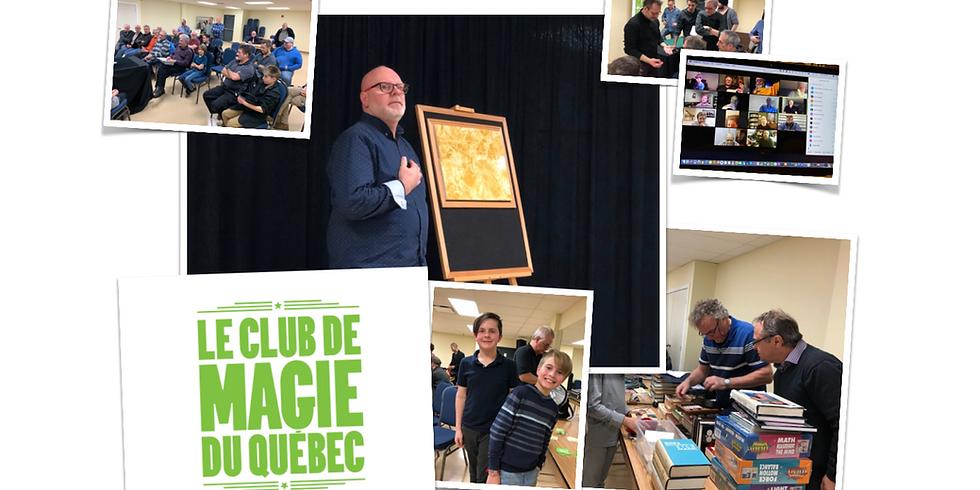 Club de magie du Québec d'avril