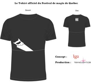 Le nouveau t-shirt du Festival - Quantité limité