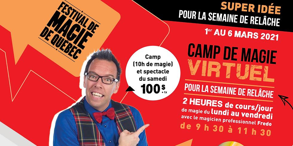 Camp de magie virtuel