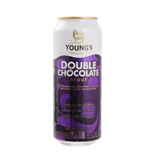 Young´s Double Chocolate lata
