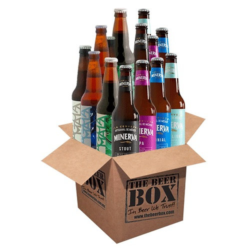 BeerBox | Minerva+Aguamala