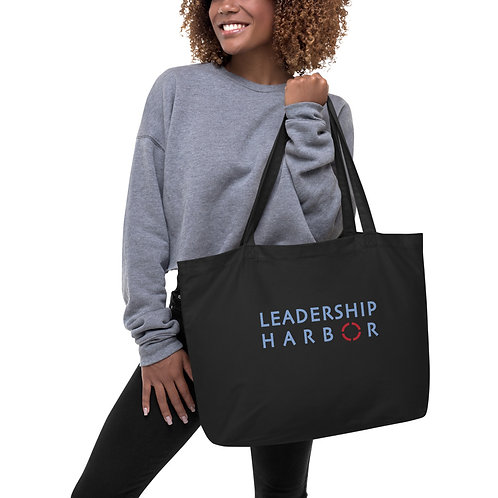 Leadership Harbor Large organic tote bag