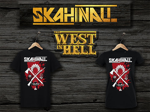 "T-shirt Skahinall ""The West in Hell"""