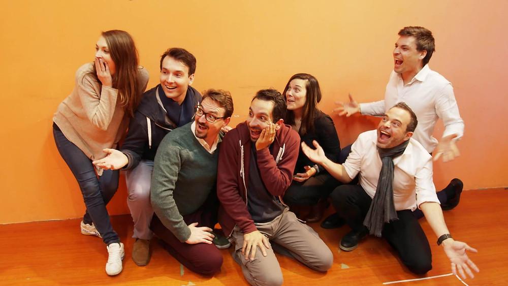 Zut Alors (Zmack's French improv team, Shanghai)