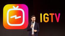 Instagram lança IGTV, app para vídeos mais longos, e abre disputa com YouTube para atrair criadores.