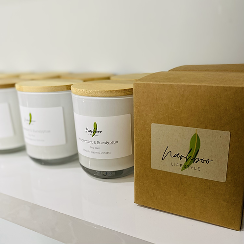 Locally made Soy Candle