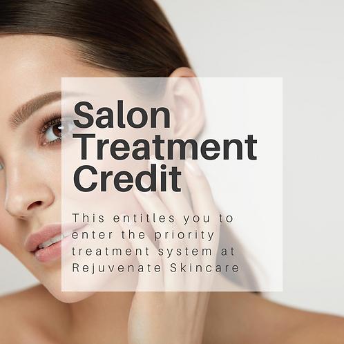 Rejuvenate Treatment Credit