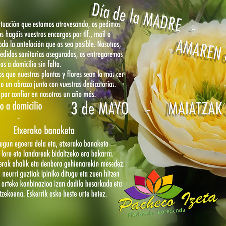 AMAREN   EGUNA - DÍA   DE   LA    MADRE