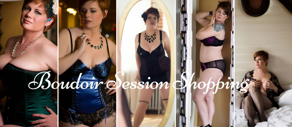 My Boudoir Journey: Shopping for boudoir outfits is a workout