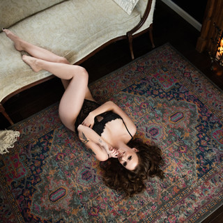 Boudoir photographer denver candle firep