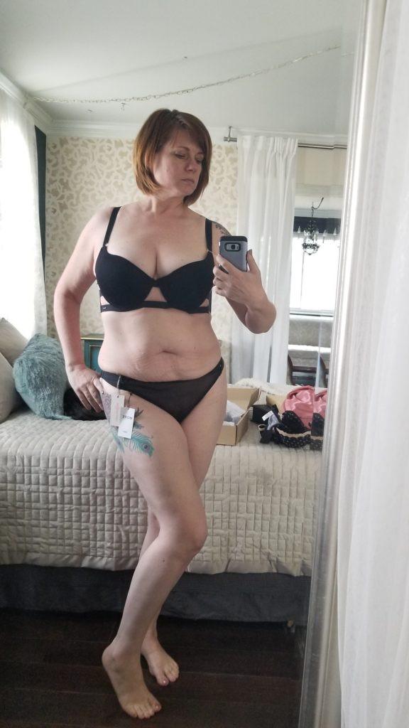 Black Bluebella bra & panty set