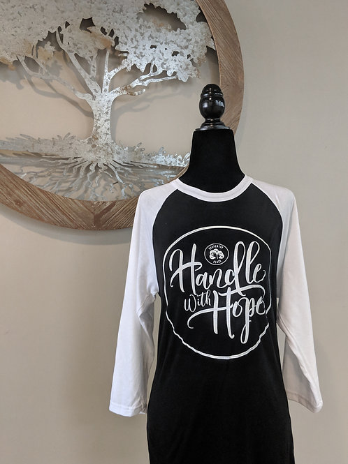 Handle with Hope Baseball Tee