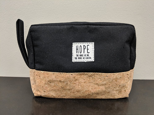 Corked-trimmed Pouch