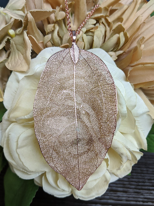 Filigree Leaf