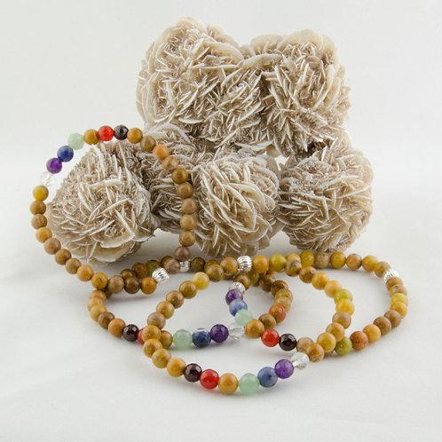 Yellow Jasper Chakra Bracelet
