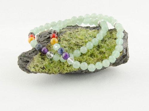 Green Aventurine Chakra Bracelet