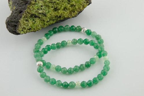 Green Aventurine Bracelet - Heart Chakra