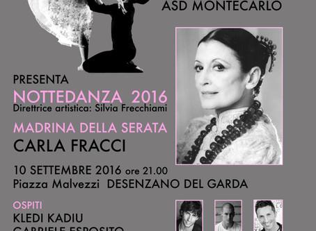 NotteDanza 2016 • Sabato 10 Settembre 2016 ore 21.00 • Piazza Malvezzi Desenzano