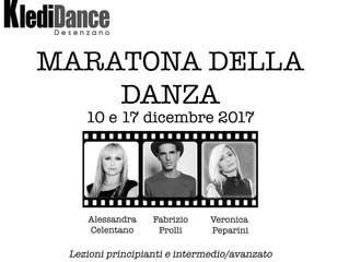 Terza Maratona della Danza 10 e 17 Dicembre 2017