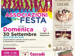 Associazioni in Festa 30 Settembre 2018