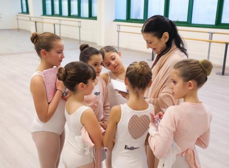 Lezione con la Maestra Carla Fracci