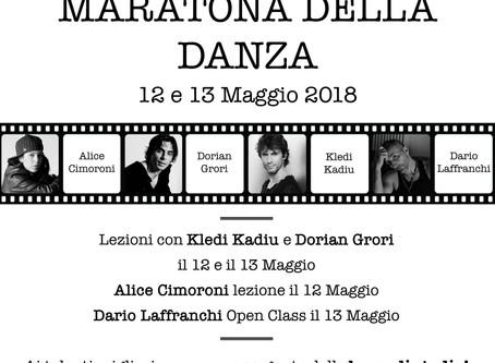 Maratona della Danza • 12 e 13 Maggio 2018