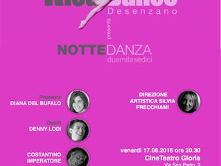 NotteDanza 2016 • Venerdì 17 giugno ore 21,30 • Teatro Gloria Montichiari