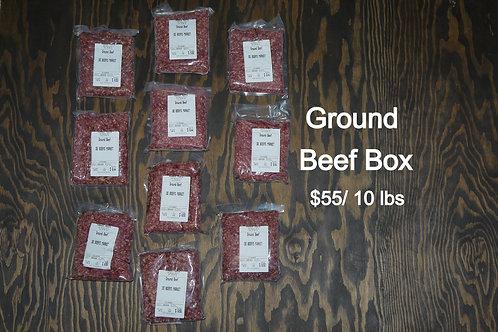 Ground Beef -10 Pound Box