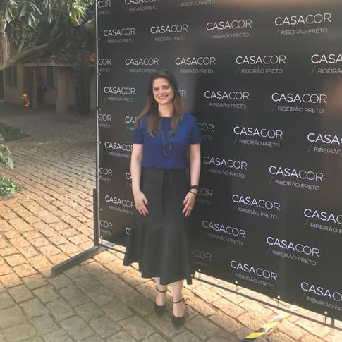 Érica Marina na CASACOR - Programa Forma com Fabinho Said