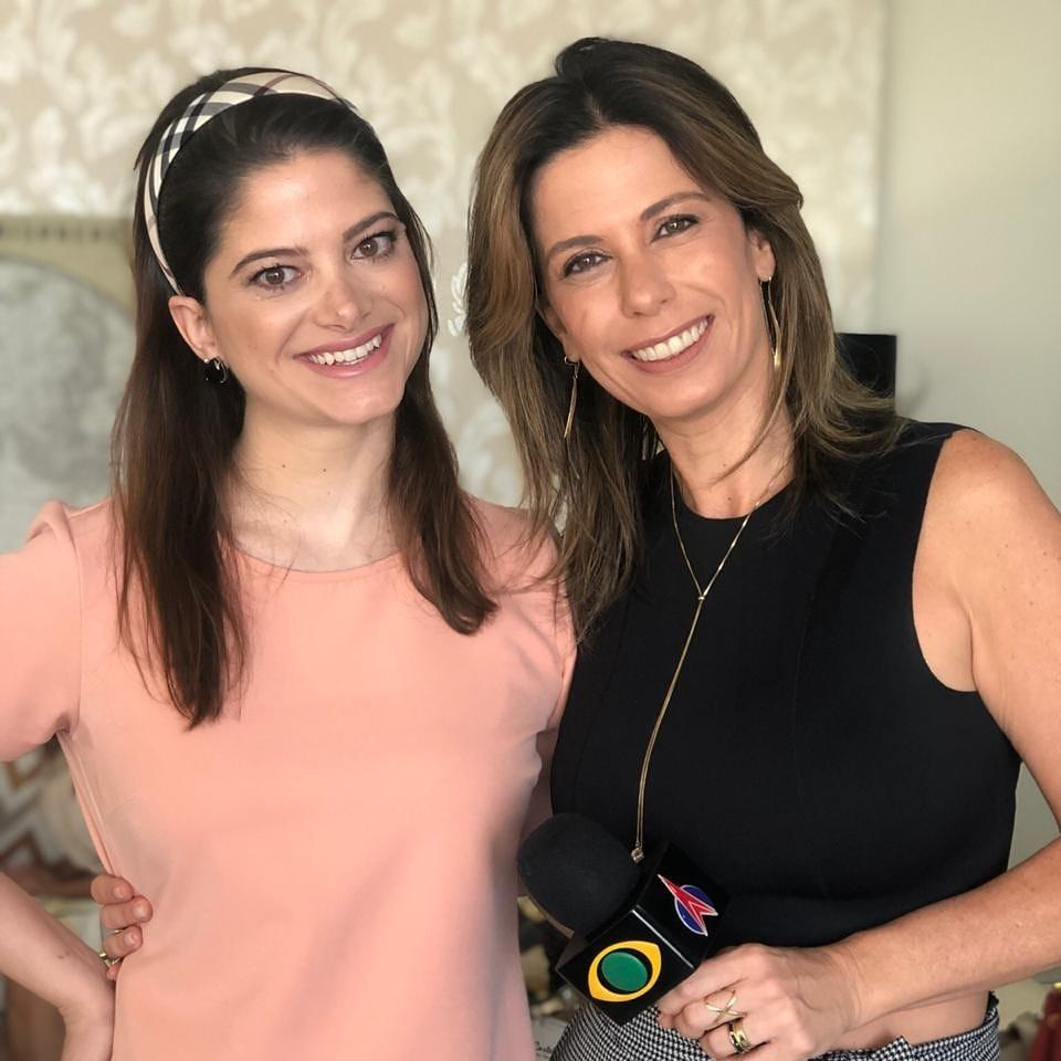 Érica Marina e LelinhaGentil