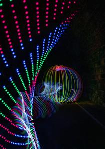 Lightpainting mit Led