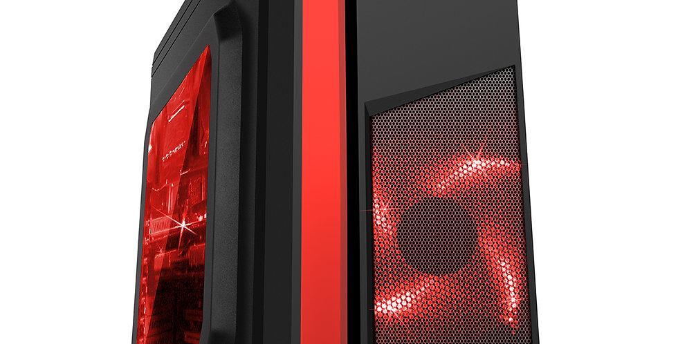 CiT F3 Black & Red Fast Gaming PC i5 i7 16GB RAM HDD SSD GTX 1660 Windows 10
