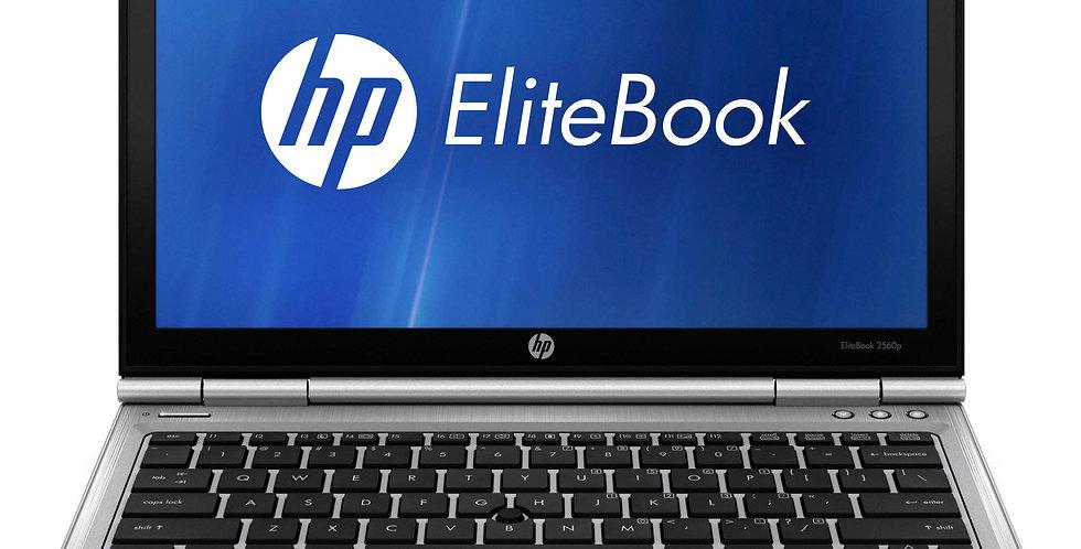 """HP Elitebook 2560P 12.1"""" Laptop Intel Core i7 2620M 4GB Ram 120 SSD W10 Webcam"""
