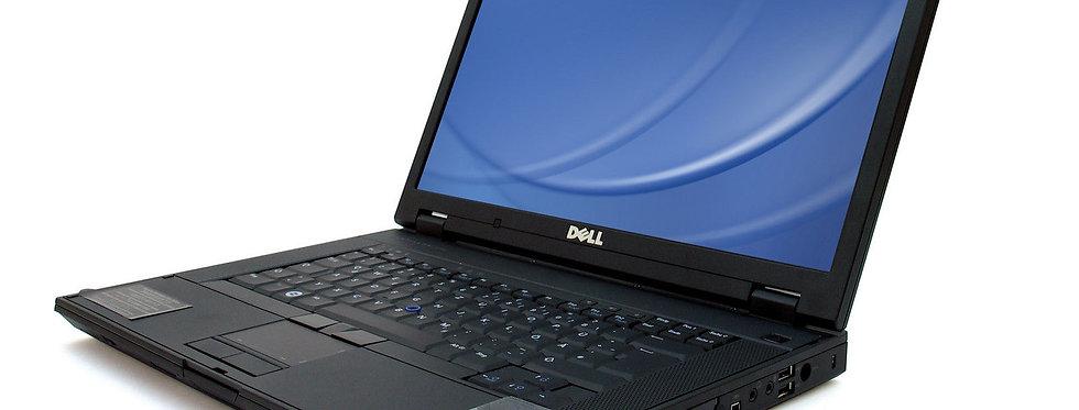 """Dell E5500 15.4"""" Laptop Intel Core 2 Duo 3GB Ram 160GB HDD Windows 10"""