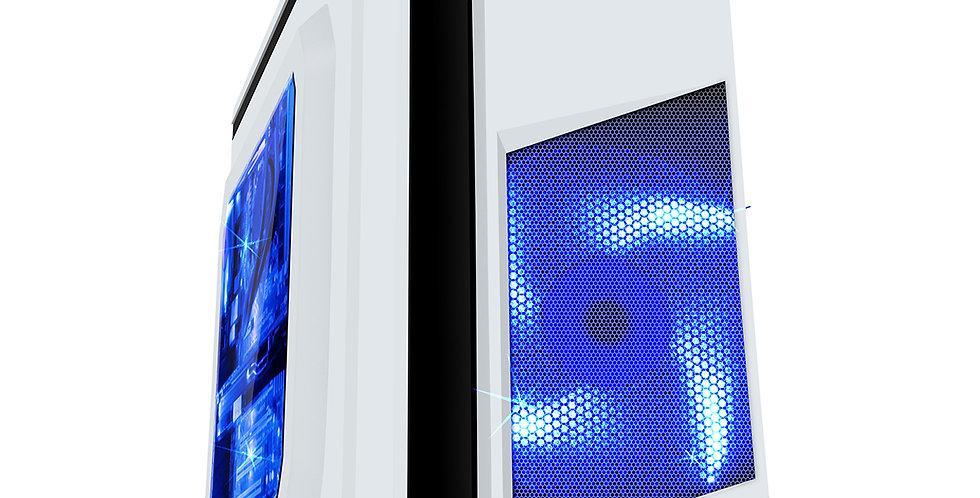 CiT F3 White & Blue Gaming PC i3 i5 i7 11TH Gen 16GB RAM HDD SSD GTX 1660 W10