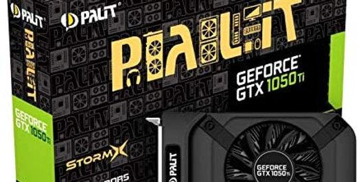Palit GeForce GTX 1050 Ti StormX 4 GB GDDR5 Graphics Card, DiplayPort, HDMI, DVI