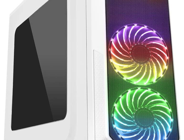 CiT Prism White RGB Fast Gaming PC i5 i7 16GB RAM HDD SSD GTX 1660 Windows 10