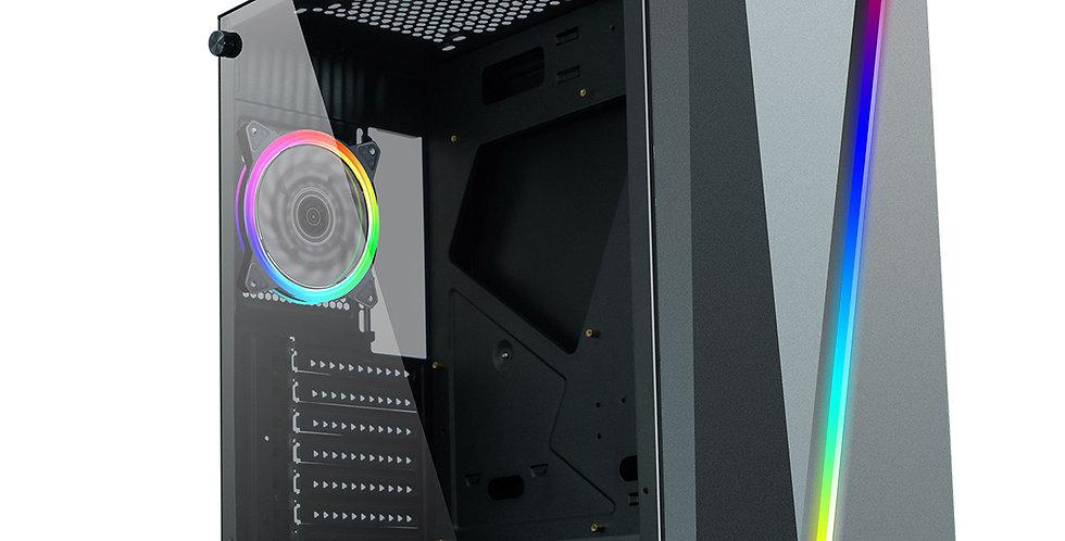 CiT C1007 RGB Light Gaming PC i3 i5 i7 16GB RAM HDD SSD GT1030 Windows 10