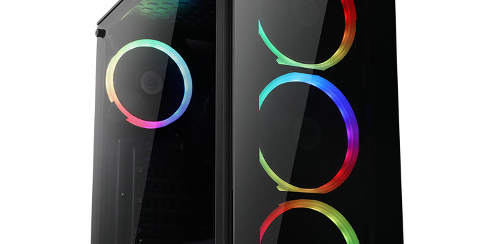 CS Aquilo Black RGB Fast Gaming PC i5 i7 16GB RAM HDD SSD GTX1660 Windows 10